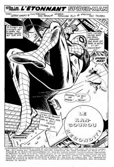 Extrait de L'Étonnant Spider-Man (Éditions Héritage) -28- Le kangourou rebondit !