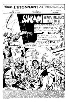 Extrait de L'Étonnant Spider-Man (Éditions Héritage) -56- Sandman frappe toujours deux fois !