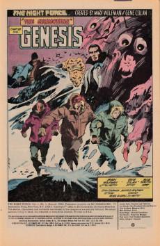 Extrait de Night Force (1982) -1- The Summoning Chapter One: Genesis