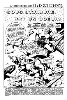 Extrait de L'invincible Iron Man (Éditions Héritage) -6- Sous l'armure, bat un cœur !