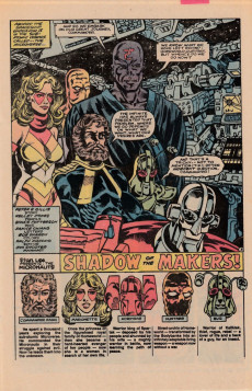 Extrait de Micronauts: The new voyages (the) (1984) -1- Shadow of the Makers!