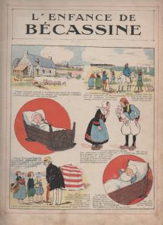 Extrait de Bécassine -1a33- L'enfance de Bécassine