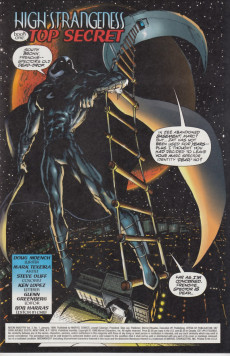 Extrait de Moon Knight: High strangers (1999) -1- High Strangeness Book One: Top Secret