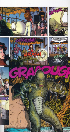 Extrait de Universal Monsters (1993) -2- Creature from the black lagoon