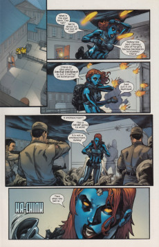 Extrait de Mystique (2003) -7- Tinker, Tailor, Mutant, Spy Chapter One
