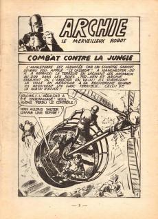 Extrait de Archie (Jeunesse et Vacances) -29- ARCHIE - Combat contre la Jungle