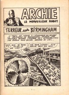 Extrait de Archie (Jeunesse et Vacances) -28- ARCHIE - Terreur sur Birmingham