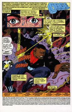 Extrait de Cage Vol. 1 (Marvel - 1992) -4- Second Chances