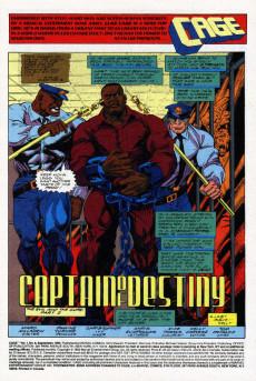 Extrait de Cage Vol. 1 (Marvel - 1992) -6- Captain Of Destiny