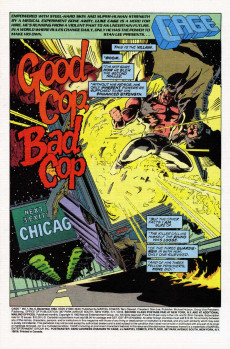 Extrait de Cage Vol. 1 (Marvel - 1992) -9- Rhino: Out of the Vault - - Into the Cage