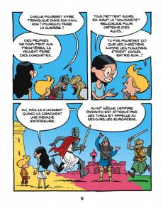 Extrait de Le fil de l'Histoire (raconté par Ariane & Nino) - Les croisades (Conflits en Terre sainte)