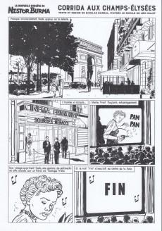 Extrait de Nestor Burma (Feuilleton) -10- Corrida aux Champs Elysées - Numéro 1