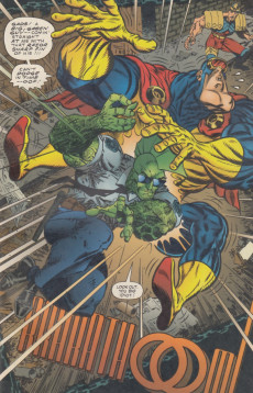 Extrait de Savage Dragon vs. Savage Megaton Man (1993) -1- Savage Brawl