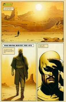 Extrait de Iron Fist (100% Marvel - 2008) -INT3- L'évasion de la huitième cité
