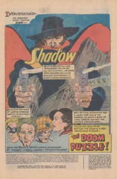 Extrait de Shadow (The) (DC comics - 1973) -1- The Doom Puzzle!
