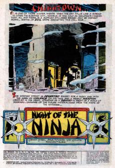 Extrait de Shadow (The) (DC comics - 1973) -6- Night of the Ninja