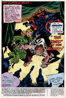 Extrait de Shadow (The) (DC comics - 1973) -7- The Night of the Beast!