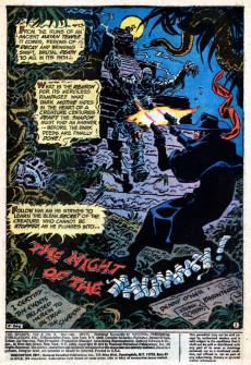 Extrait de Shadow (The) (DC comics - 1973) -8- The Night of the Mummy!