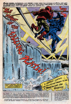 Extrait de Shadow (The) (DC comics - 1973) -9- The Night of the Falling Death!