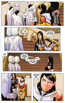 Extrait de X-23 (2018) -1- Two Birthdays And Three Funerals