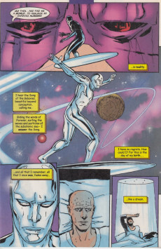 Extrait de Silver Surfer Vol.3 (Marvel comics - 1987) -140- Sun Rise and Shadow Fall: chapter 1