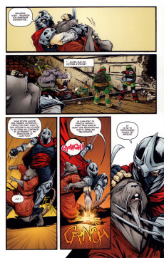 Extrait de Teenage Mutant Ninja Turtles - Les Tortues Ninja (HiComics) -3- La chute de New-York 2/2