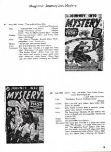 Extrait de Marvel comics index -5- The mighty Thor