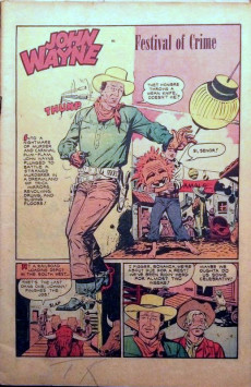 Extrait de John Wayne Adventure Comics (1949) -5- Volcano Of Death