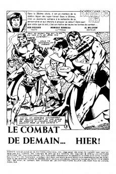 Extrait de Karaté Kid (Éditions Héritage) -1112- Le combat de demain... hier !