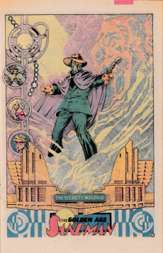 Extrait de Secret origins (1986) -7- The Secret Origin of Green Lantern and the Golden Age Sandman