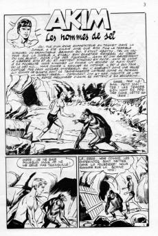 Extrait de Akim (3e série) -23- Les hommes de sel - La lance sacrée de Thor