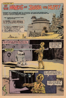 Extrait de Star Wars: Return of The Jedi (1983) -1- Chapter One: In The Hands Of Jabba The Hutt!