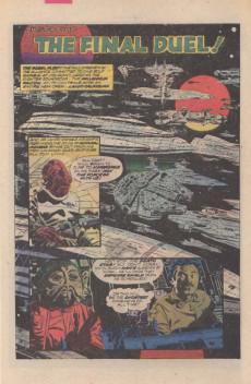 Extrait de Star Wars: Return of The Jedi (1983) -4- Chapter Four: The Final Duel!