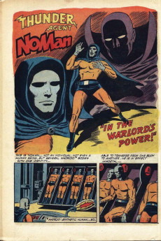 Extrait de T.H.U.N.D.E.R. Agents (Tower comics - 1965) -2- Dynamo