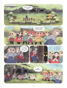 Extrait de Bergères guerrières -2- La Menace