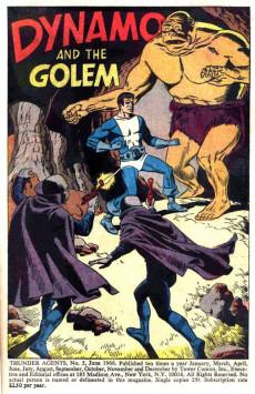 Extrait de T.H.U.N.D.E.R. Agents (Tower comics - 1965) -5- Double for Dynamo