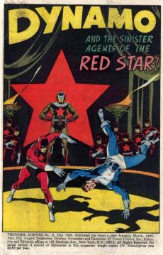 Extrait de T.H.U.N.D.E.R. Agents (Tower comics - 1965) -6- (sans titre)
