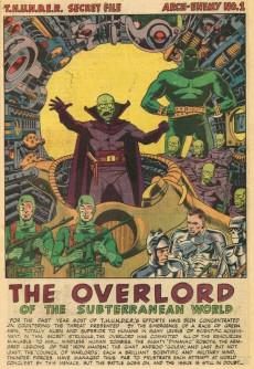 Extrait de T.H.U.N.D.E.R. Agents (Tower comics - 1965) -8- Final Encounter!
