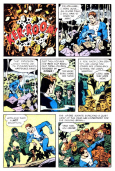 Extrait de T.H.U.N.D.E.R. Agents (Tower comics - 1965) -9- The Secret of Scorpion Island