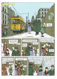 Extrait de Spirou et Fantasio (Une aventure de.../Le Spirou de...) -14HC- L'Espoir malgré tout - Première partie - Un mauvais départ
