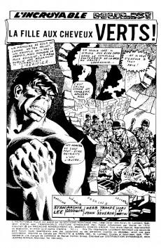 Extrait de L'incroyable Hulk (Éditions Héritage) -11- La fille aux cheveux verts