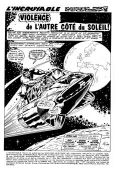Extrait de L'incroyable Hulk (Éditions Héritage) -17- Violence de l'autre côté du soleil!