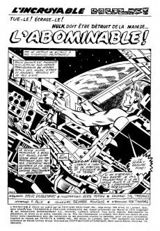 Extrait de L'incroyable Hulk (Éditions Héritage) -18- L'abominable !