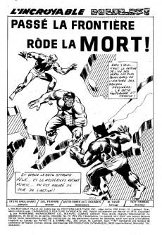 Extrait de L'incroyable Hulk (Éditions Héritage) -20- Passé la frontière rôde la mort !