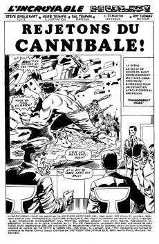 Extrait de L'incroyable Hulk (Éditions Héritage) -21- Rejetons su cannibale !