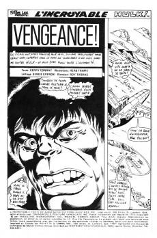 Extrait de L'incroyable Hulk (Éditions Héritage) -30- Vengeance !