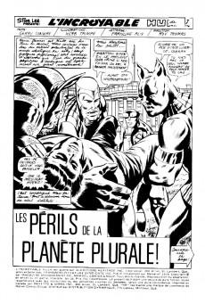 Extrait de L'incroyable Hulk (Éditions Héritage) -36- Les périls de la planète Plurale!