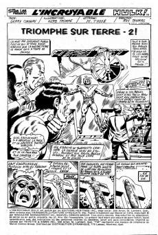 Extrait de L'incroyable Hulk (Éditions Héritage) -37- Triomphe sur Terre-2!
