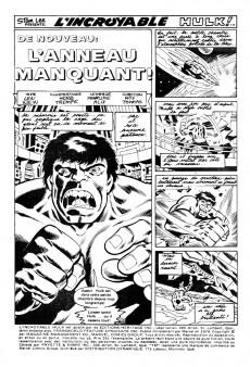 Extrait de L'incroyable Hulk (Éditions Héritage) -38- De nouveau: l'anneau manquant!