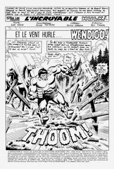 Extrait de L'incroyable Hulk (Éditions Héritage) -39- Et le vent hurle... Wendigo!